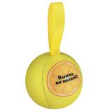 Шарик-антистресс с пожеланием Лимон, желтый фото