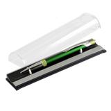 Шариковая ручка Bali, зеленый; отделка - хром фото