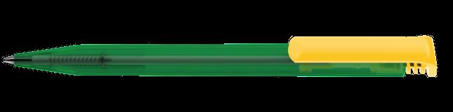 Ручка шариковая Super-Hit mix&match, зеленый/желтый фото