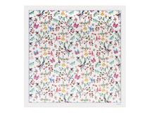 Шелковый платок Butterfly, белый фото