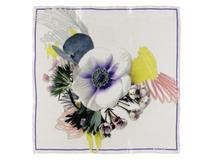 Шелковый платок Madeleine, белый фото