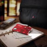 Швейцарская карта Victorinox SwissCard, красная подарочная коробка, 13 функций фото