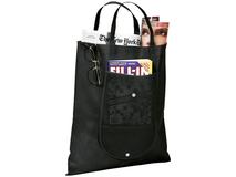 Складная сумка Maple, 80 г/м2, черный фото