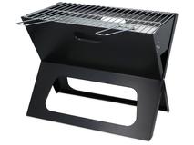 Складной переносной мангал для BBQ Mangal, черный фото