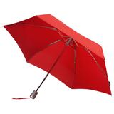 Складной зонт Alu Drop, 4 сложения, автомат, красный фото