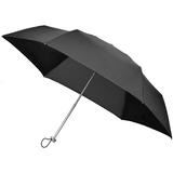 Складной зонт Alu Drop S, 3 сложения, механический, черный фото