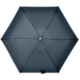 Складной зонт Alu Drop S, 4 сложения, автомат, синий фото