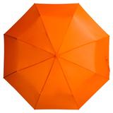 Зонт складной механический Unit Basic, оранжевый фото