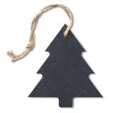 Сланцевая елочная игрушка Slatetree, черный фото