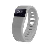 Смарт-браслет Portobello Trend, The One, электронный дисплей, браслет - силикон, серый фото