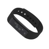 Смарт браслет (умный браслет) Portobello Trend, Only, электронный дисплей, браслет-силикон, 240x16x10 мм, черный-черный фото