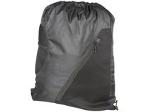 Спортивный рюкзак из сетки на молнии, черный фото