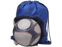 Спортивный рюкзак на шнурке, синий фото