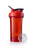 Спортивный шейкер Pro24 Full Color, 710 мл, красный фото