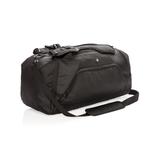 Спортивная сумка-рюкзак Swiss peak с защитой от считывания данных RFID, черный фото