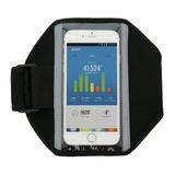 Спортивный чехол для телефона на руку Basic, черный фото