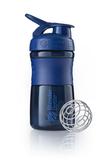Спортивный шейкер SportMixer, синий фото