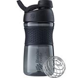 Спортивный шейкер SportMixer Twist Cap, 591 мл, черный фото