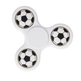 Спиннер Футбол, черный, белый фото