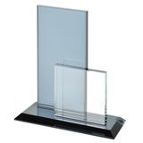 Стела наградная Double, 15,5х6х17,6см, стекло фото