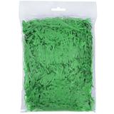 Стружка бумажная декоративная мягкая, 3 мм, 40 гр, зеленая фото