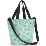 Сумка детская shopper xs cats and dogs mint, зеленый фото