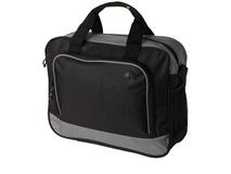 Конференц сумка для документов Barracuda, черный/ серый фото