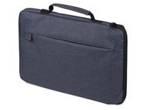 Сумка для ноутбука 13'' Flank, тёмно-синяя, с боковой молнией фото