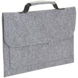 Сумка для ноутбука BRIXTON, серый меланж фото