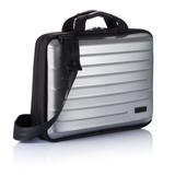 Сумка для ноутбука Hard shell, черный, серебряный/серый фото
