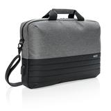Сумка для ноутбука Swiss Peak с RFID-защитой, черный, серый фото