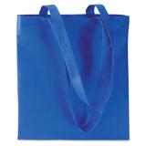 Сумка для покупок, длинные ручки, 80 гр/м2, синий фото
