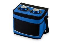 Сумка-холодильник California Innovations, регулируемый плечевой ремень с мягкой подкладкой, черный/синий фото