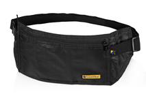 Сумка-кошелек на пояс c RFID защитой, чёрный фото