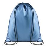 Сумка-мешок, синий металлик фото