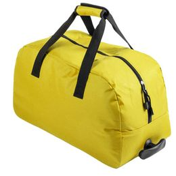 Сумка на колесиках BERTOX, желтый фото
