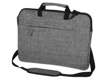 Сумка Plush c усиленной защитой ноутбука 15.6'', серая фото