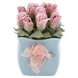 Сувенир «Корзина с розами» фото