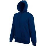 Толстовка мужская Fruit of the loom Hooded Sweat, темно-синий фото