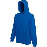 Толстовка мужская Fruit of the loom Hooded Sweat, синий фото