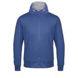 Толстовка Kulonga Heavy Zip, ярко-синяя фото