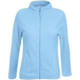 Толстовка Lady-Fit Micro Jacket, небесно-голубой фото