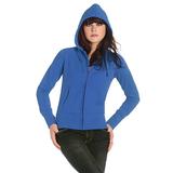Толстовка женская на молнии Hooded Full Zip/women, синий фото