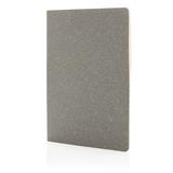 Тонкий блокнот Standard в мягкой обложке, А5, тёмно-серый фото