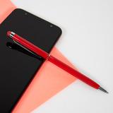 Ручка металлическая TOUCHWRITER со стилусом, белый/хром фото
