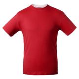 Унисекс футболка T-bolka Accent, красная фото