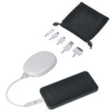 Зарядное устройство универсальное подставка для смартфона Handy, 2000 mAh, белое фото