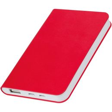 Зарядное устройство универсальное thINKme Softi, 4000 mAh, красное фото