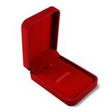 Упаковка Бархатная коробочка, красная фото
