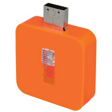 Флешка Akor , 8Гб, оранжевая фото
